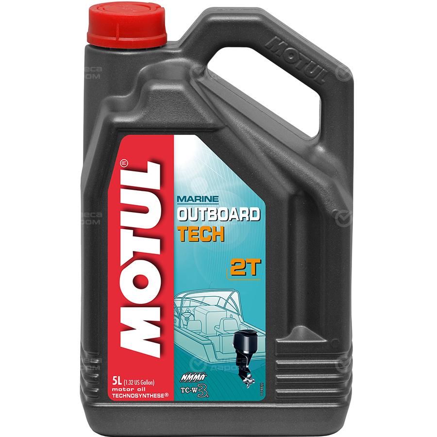 Масло Motul Outboard Tech 2T 5л